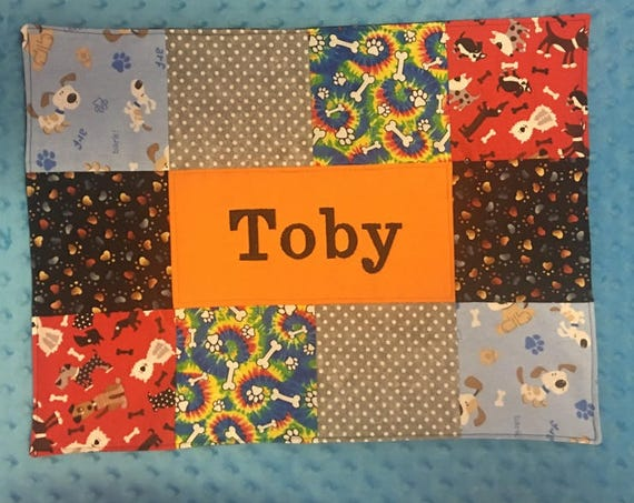 Personalized Custom Puppy Placemat