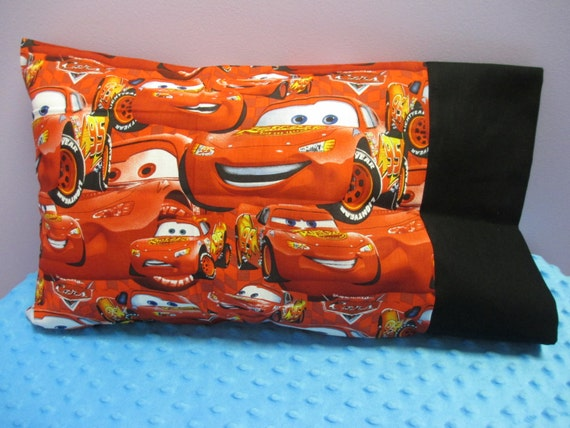 Travel Pillowcase Handmade Personalized Cars Character