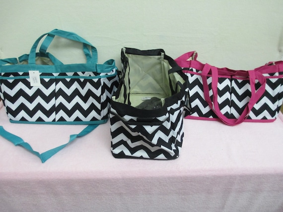 Market/Utility Bag Personalized Chevron