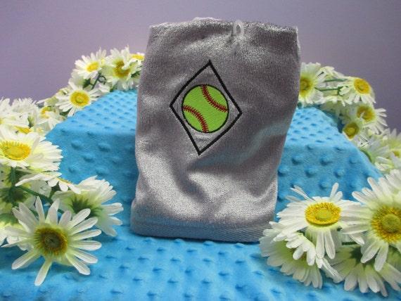 Sports Towel Personalized Softball