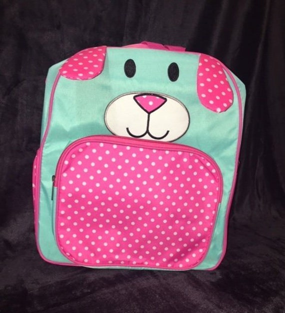 Puppy Backpack, School Bag, Book Bag, Cute Backpack