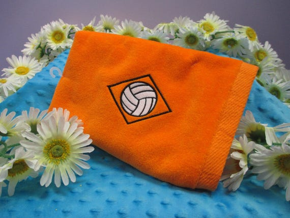 Sports Towel Personalized Diamond Volleyball-FREE SHIPPING