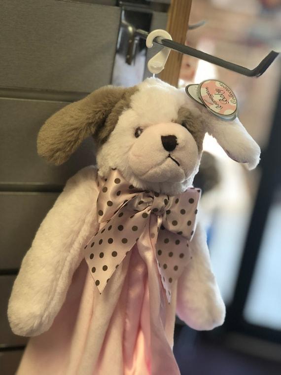 Snuggle Buddy Personalized Pink Puppy