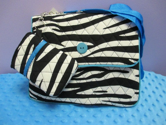 Personalized Zebra Print iPad/Kindle/Tablet Case *LIMITED QUANTITY SALE*