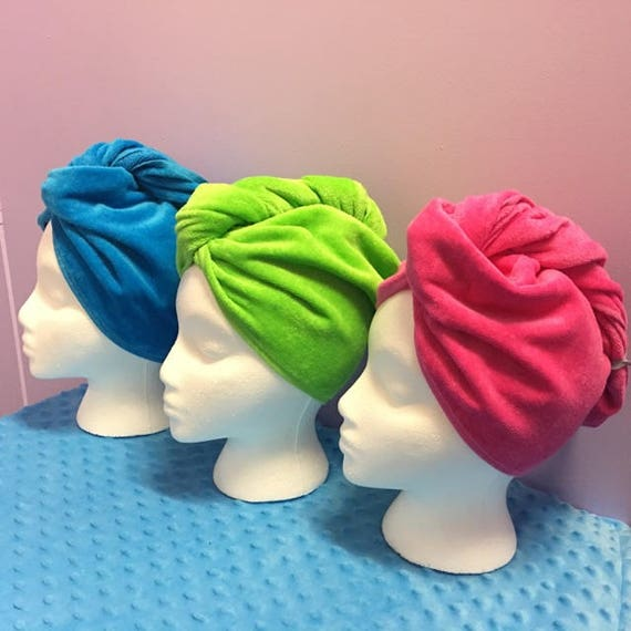 Hair Turban Personalized Just For You With A 3 Letter Monogram FREE SHIPPING