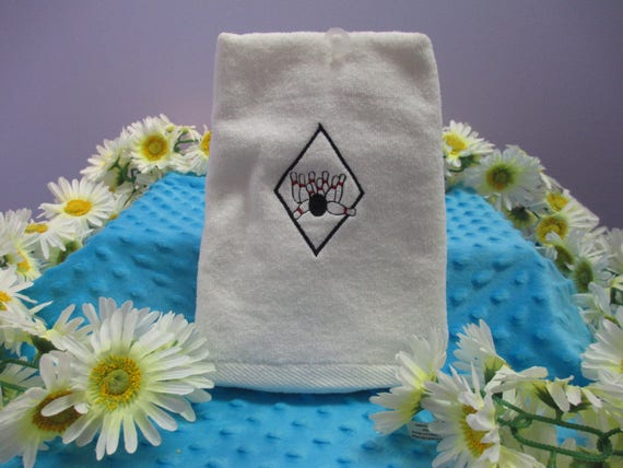 Sports Towel Personalized Diamond Bowling-FREE SHIPPING