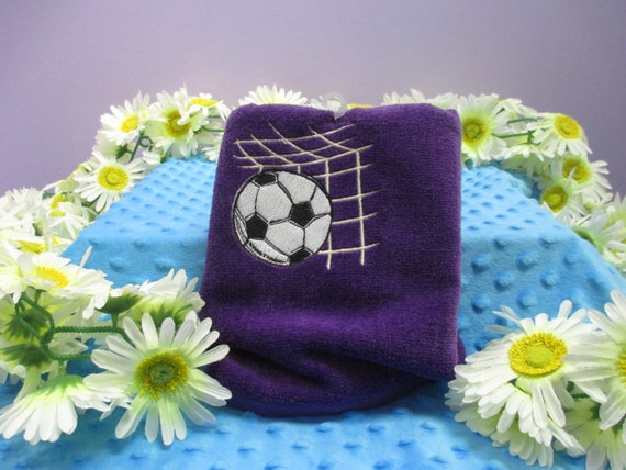 Sports Towel Personalized Soccer Goal-FREE SHIPPING