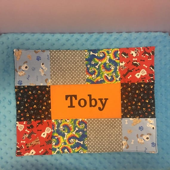 Personalized Custom Puppy Placemat-FREE SHIPPING