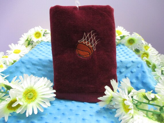 Sports Towel Personalized Basketball