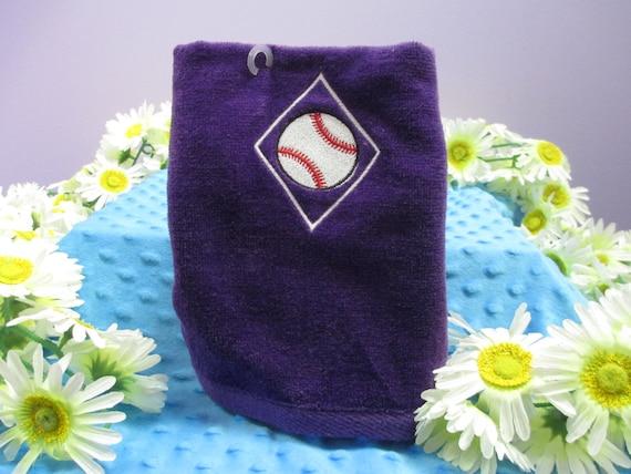 Sports Towel Personalized Baseball