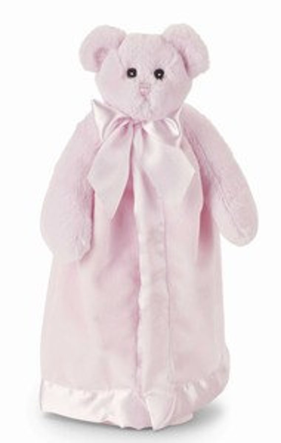 Snuggle Buddy Personalized Pink Bear