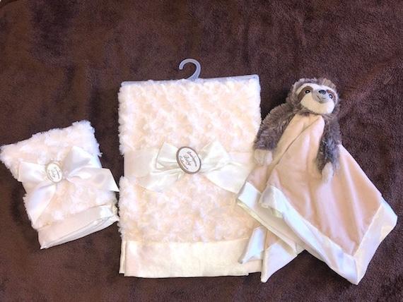 Personalized Snuggle Buddy Sloth Set