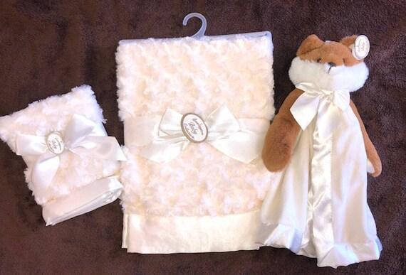 Personalized Snuggle Buddy Fox Set