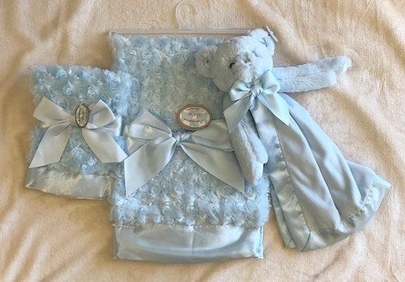 Personalized Snuggle Buddy Bear Set