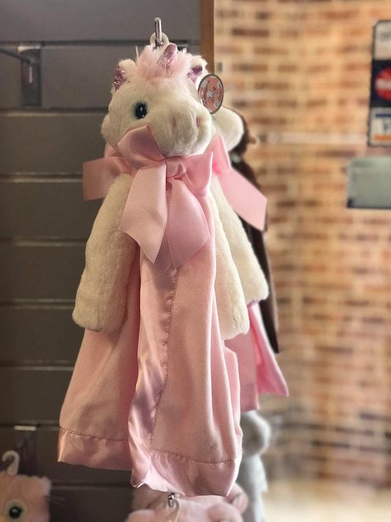 Snuggle Buddy Personalized Pink Unicorn