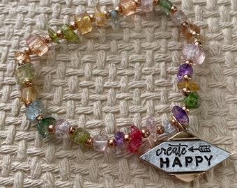 Create happy bracelet