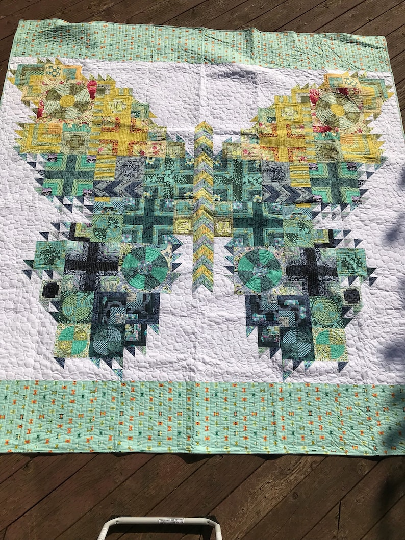 Tula Pink Butterfly quilt image 0