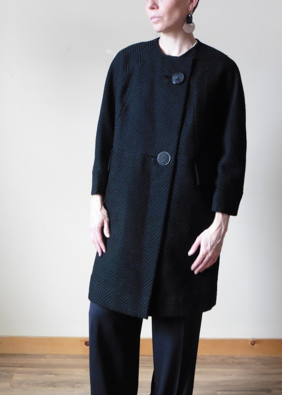 50s Heavy Wool Coat