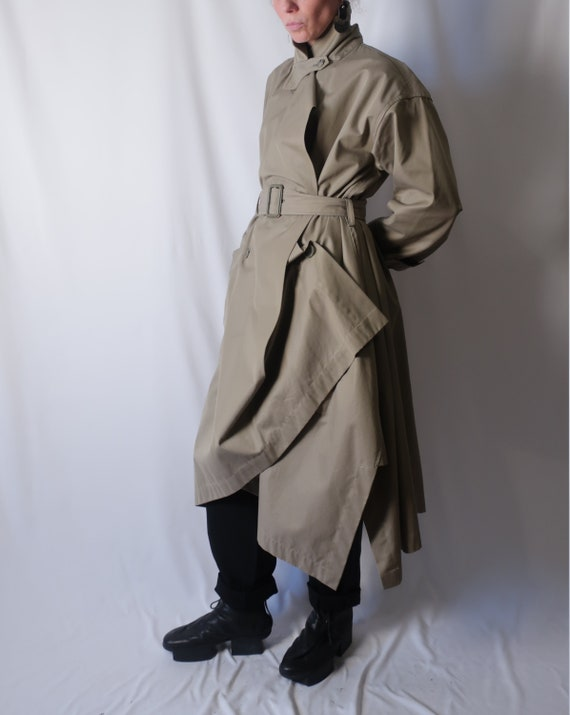 80s Issey Miyake Sculptural Trench coat
