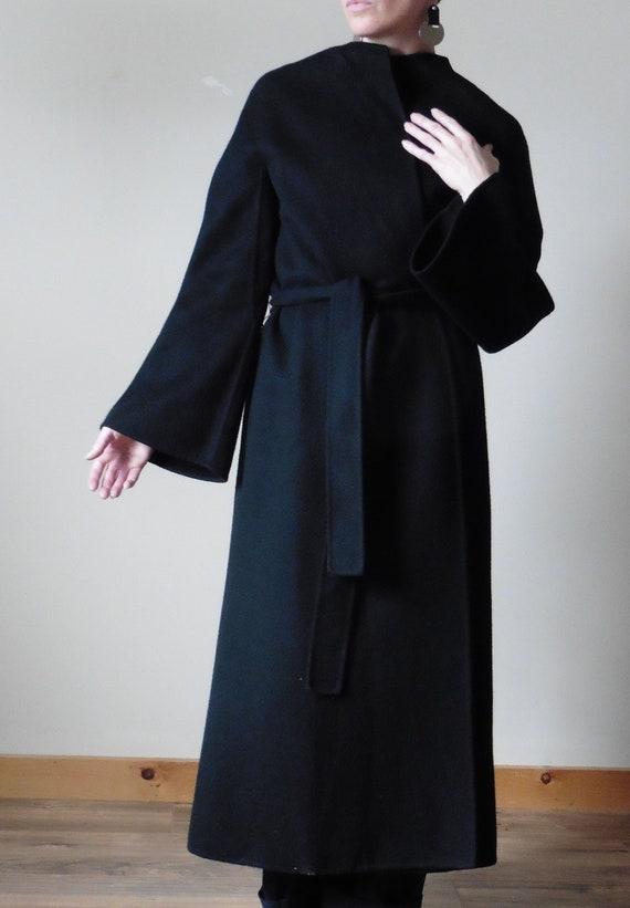 Agnona Cashmere Wrap Coat