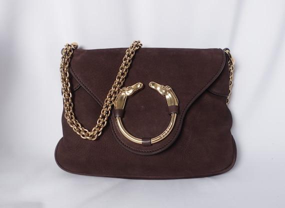 Gucci Ribot Horsehead Nubuck Bag
