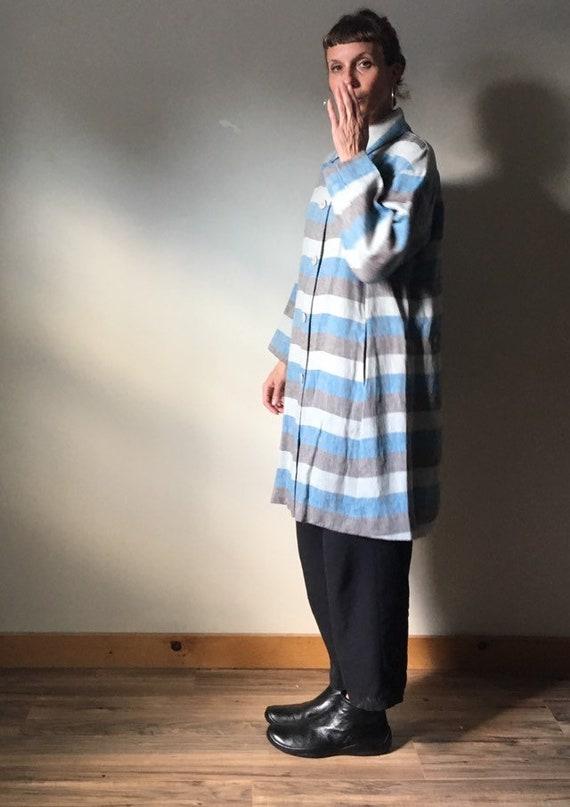 Issey Miyake Pleats Please Linen Duster Coat - image 5
