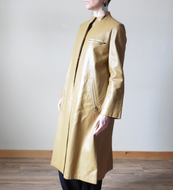 Bonnie Cashin Leather Coat
