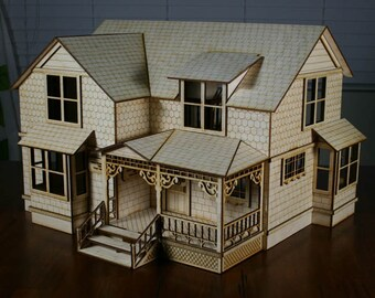 Victorian Dollhouse Mansion Etsy
