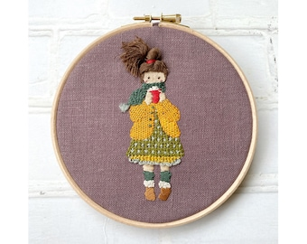 Alice in Stitches Hand Embroidery Kit