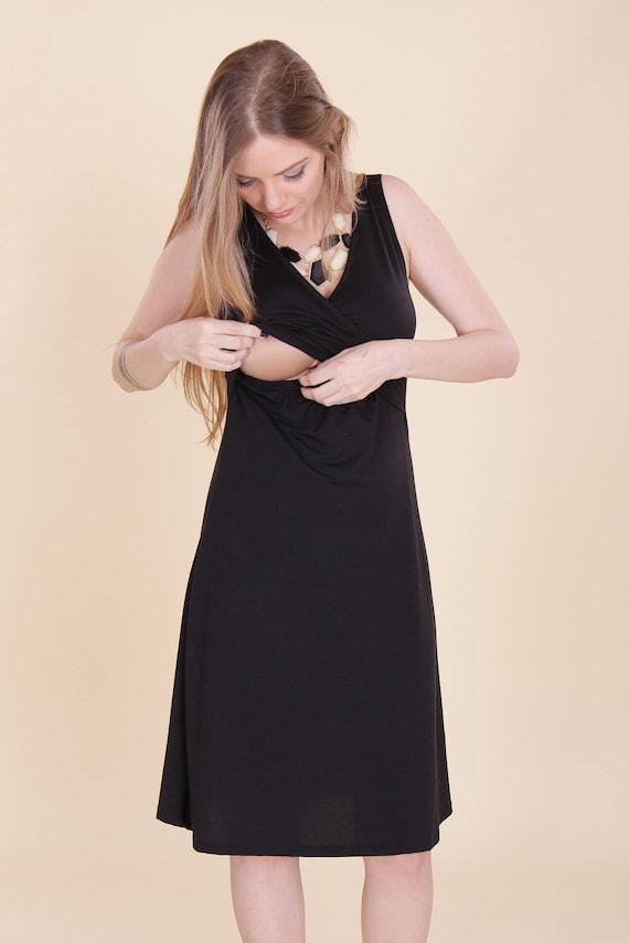 SALE-Blue classic dress Maternity dress  Maternity  d99ce55ab290