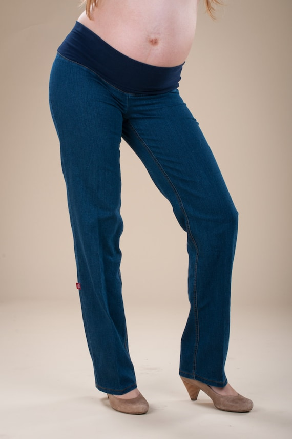 582ff3057 maternity wide leg trousers - maternity jeans - wide leg pants- maternity  pants - pregnancy clothing