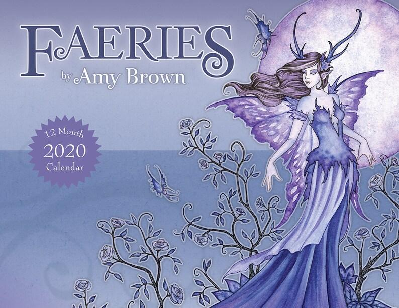 Amy Brown Calendar 2020 NEW 2020 Calendar fairy mermaid dragon by Amy Brown | Etsy