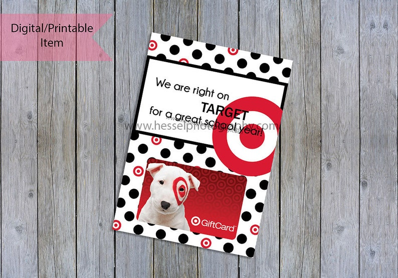photo regarding Printable Target Gift Card titled back again in the direction of university trainer present, Printable aim present card, concentration giftcard holder, emphasis reward, trainer reward, aim tag, instructor appreciation