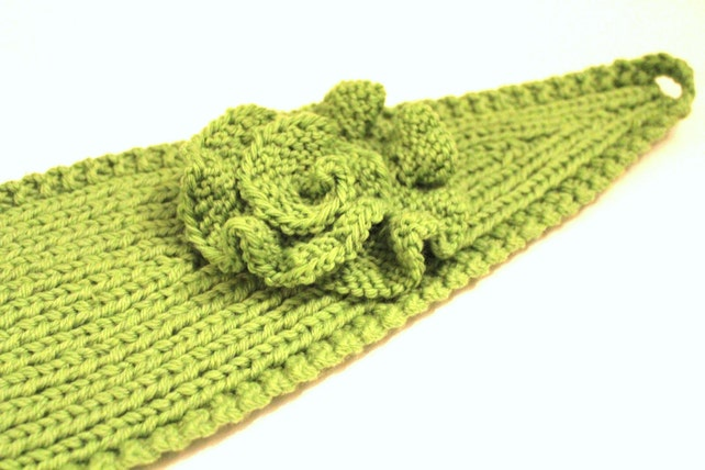Pattern Knitting Pattern Headband With Crochet Or Knitted Etsy