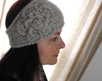 CROCHET PATTERN - Fast Crochet Headband Kayla Bulky Weight Yarn Two Sizes