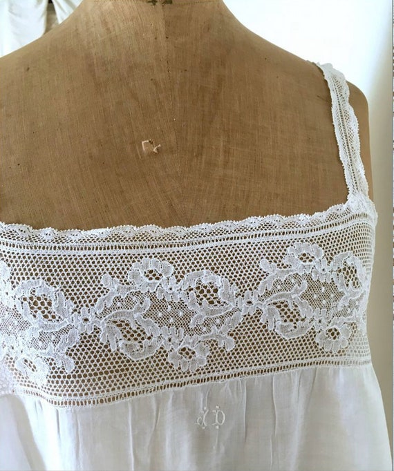 Antique French chemise