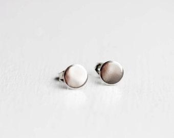 Silver Dot Studs