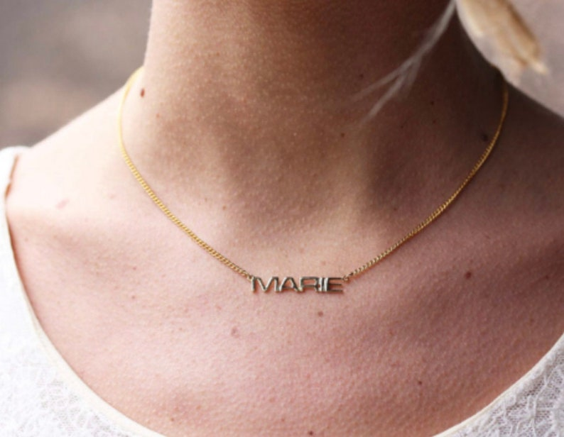Judy Name Necklace Gold Vintage Name Necklace Gold Gold Necklace Name Necklace Vintage Necklace Vintage Name Necklace