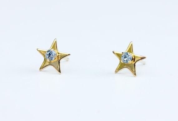 Star Studs Gold, Stone Star Studs, Star Studs, Cry