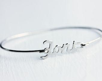 Toni Name Bracelet