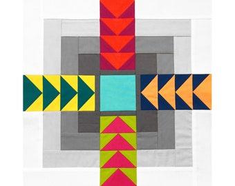 Public Square Quilt Block