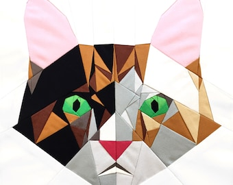 The Cat's Meow Quilt Block