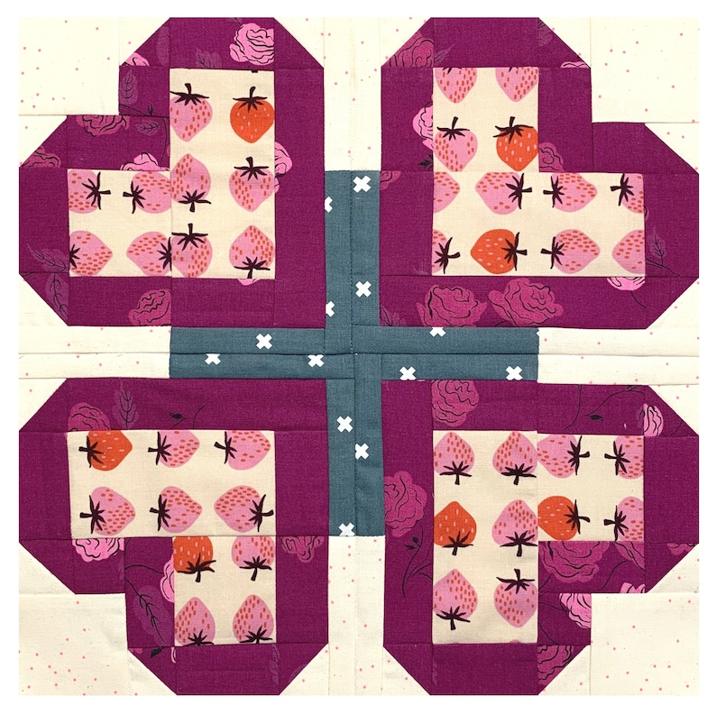 All Heart Quilt Block image 0