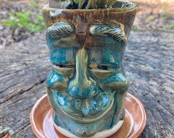 Just Smile Face Planter