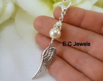 Bridal Bouquet Angel Wing