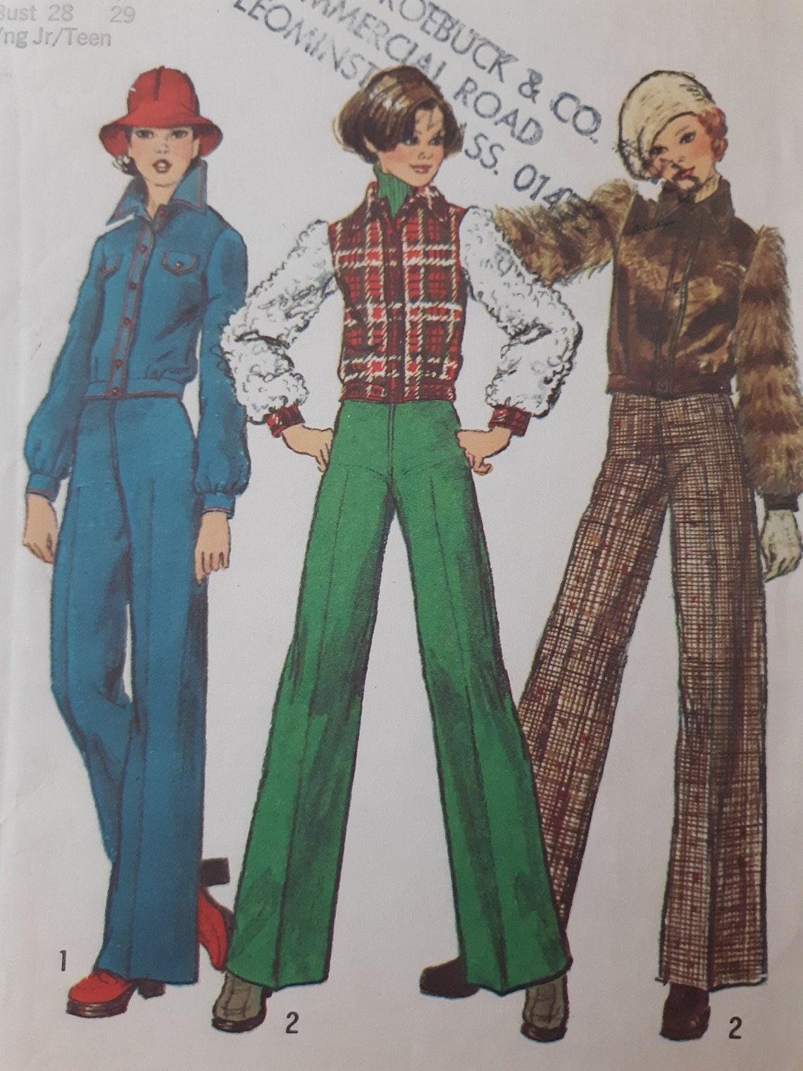 Vintage 70er Jahre Einfachheit 6618 UNCUT junge Junior