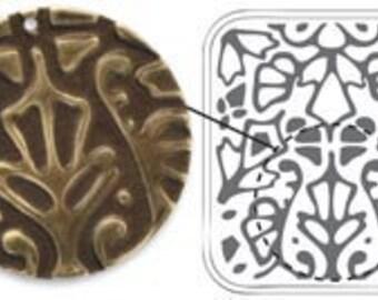Deco Motif Deco Emboss Folder by Sizzix and Vintaj, Vintaj Embossing Folders