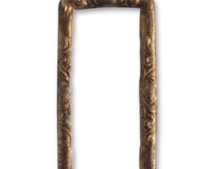 2 Pieces Scrolled Frame by Vintaj Natural Brass Item P330