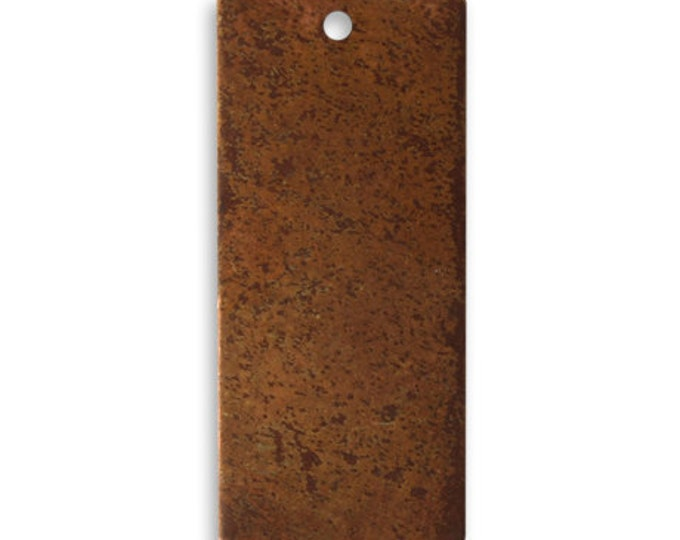 SALE 4 pieces larger COPPER Rectangle Blank, Vintaj Copper, Vintaj Item CHW0001, Size:32x14.5mm