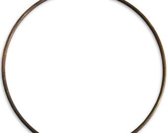 Brass Creative Hoop, 67mm Bracelet hoop, Vintaj Natural Brass H10